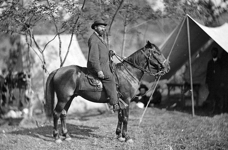 Алан Пинкертон в 1862 году
